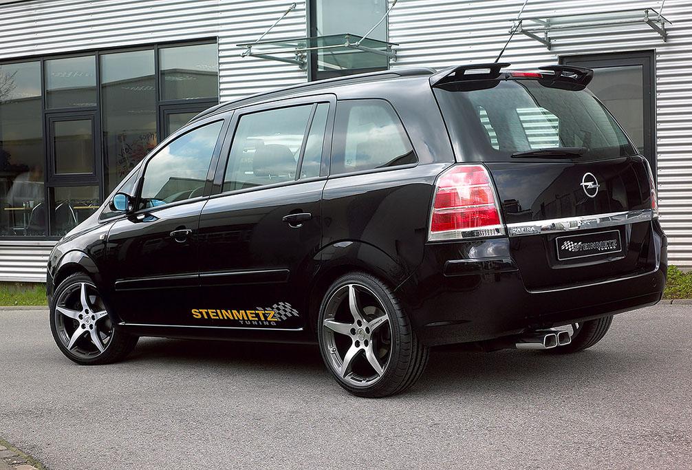 Opel zafira a тюнинг своими руками